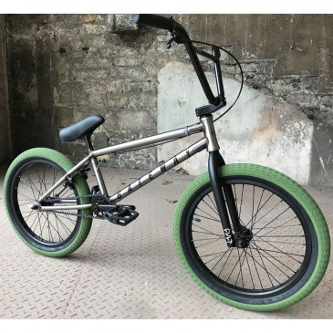 BMX CULT CUSTOM GATEWAY RAW ARMY GREEN 20.5""