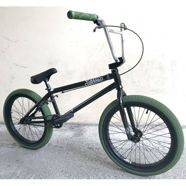 BMX SUBROSA CUSTOM TIRO XL BLACK ARMY GREEN 21""