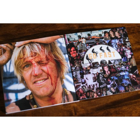 DVD + LIVRE COLLECTOR / JIMMY LEVAN STORY ( GO FAST PULL UP)