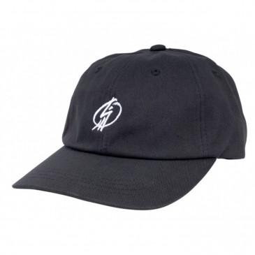CASQUETTE SHADOW CROW TAG DAD HAT BLACK