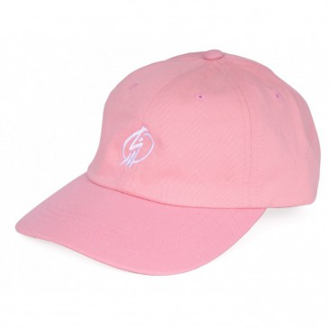 CASQUETTE SHADOW CROW TAG DAD HAT PINK