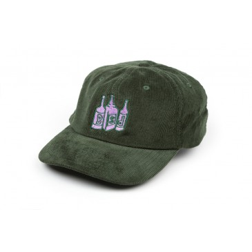 CASQUETTE BSD 6 PANEL BOTTLE CAP GREEN