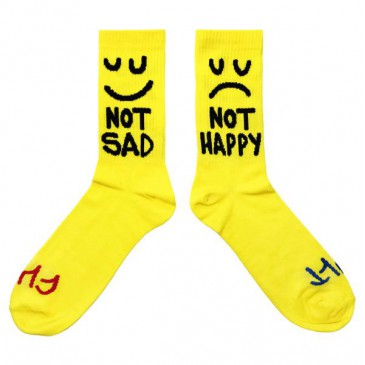 CHAUSSETTES CULT THIS NIGHT SOCKS YELLOW
