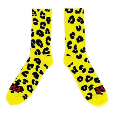 CHAUSSETTES CULT PROWLERS YELLOW
