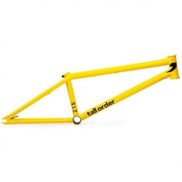 CADRE BMX TALL ORDER 215 V2 CRANMER MATT YELLOW