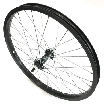 ROUE AVANT BMX HARO 20x1,75 AXE 10MM BLACK