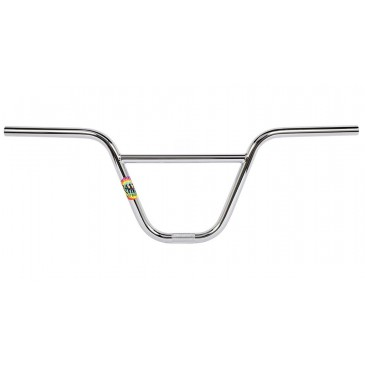 "GUIDON BMX RANT SWAY CHROME 9""."