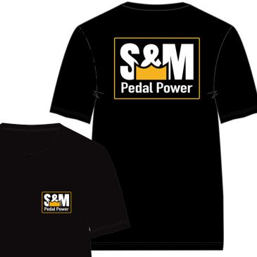 TSHIRT S&M PEDAL POWER