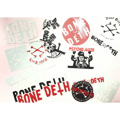 PACK STICKERS BONE DETH 2016