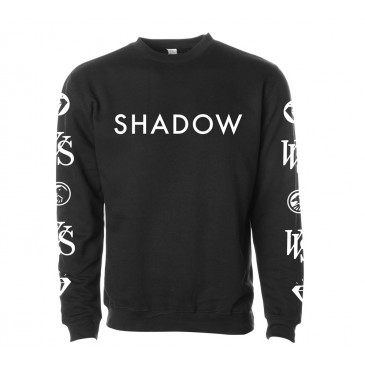 SWEAT SHADOW CREW VVS BLACK