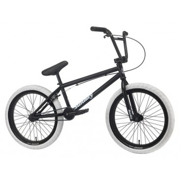 "BMX SUNDAY BLUEPRINT 20,5"" MATTE BLACK/WHITE 2020"