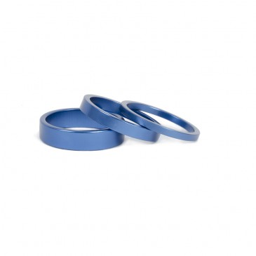 SPACER DE DIRECTION BMX RANT STACK'EM BLUE