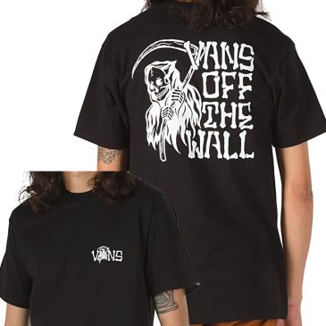 TEESHIRT VANS EASY BOX BLACK