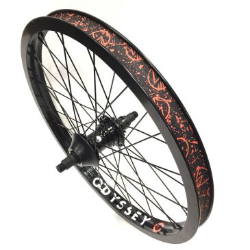 ROUE ARRIERE BMX CUSTOM OPTIMIZED X ODYSSEY HAZARD LITE