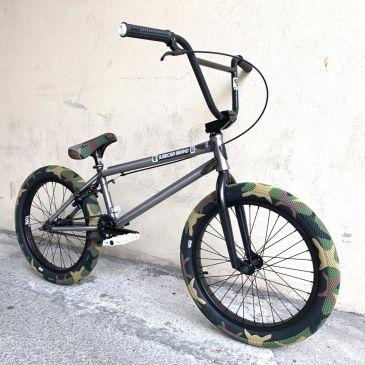BMX CUSTOM 21'' SUBROSA TIRO XL RAW X VANS CAMO