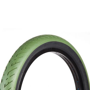 PNEU BMX FIT T/A GREEN BLACK WALL
