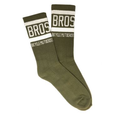 CHAUSSETTES BMX BROS BICYCLEMOTOCROSS BLACK