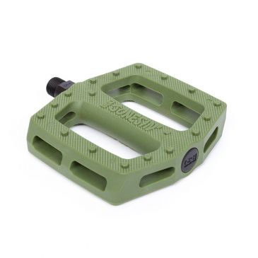 BMX PEDALS BSD JONESIN PC SURPLUS GREEN