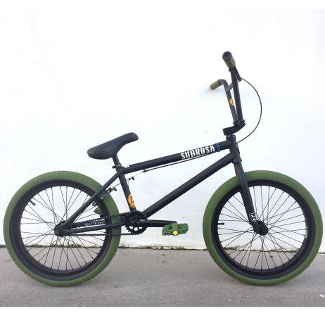 Vocal BMX bike headset spacer alloy 10mm green