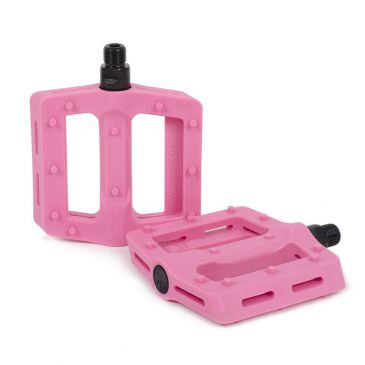 BMX PEDALS SHADOW SURFACE BUBBLE PINK