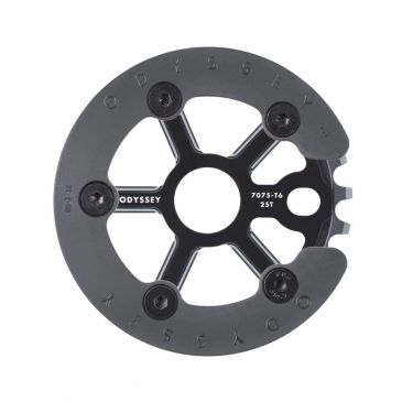 BMX SPROCKET ODYSSEY HALFBASH GUARD BLACK