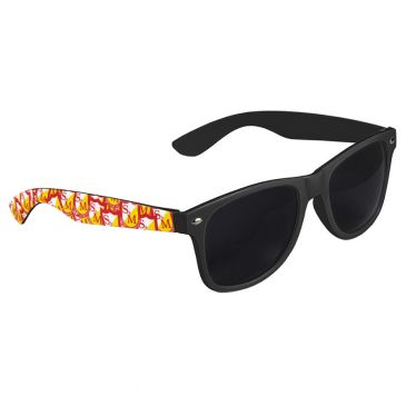 LUNETTE DE SOLEIL S&M SHIELD SHADES BLACK