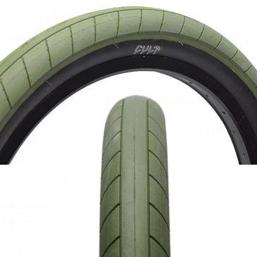 PNEU BMX CULT DEHART SLICK OLIVE GREEN