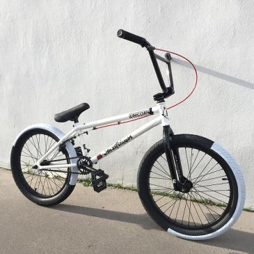 BMX RADIO BIKES X UNICORN WHITE 20.5""
