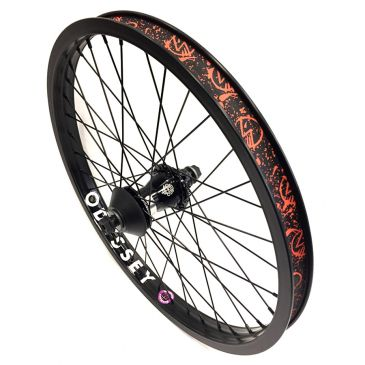 REAR BMX WHEEL CUSTOM SHADOW X ODYSSEY QUADRANT