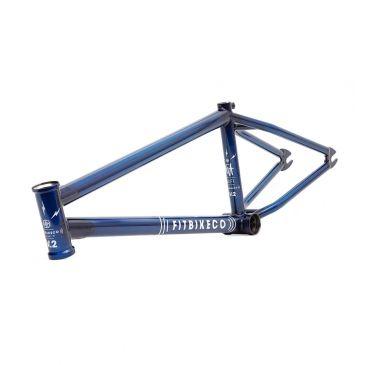 CADRE BMX FITBIKECO WIFI V2 TRANS BLUE