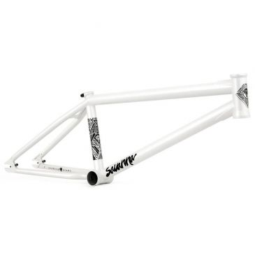 CADRE BMX FLYBIKES SAVANNA V3 SATIN METALLIC WHITE