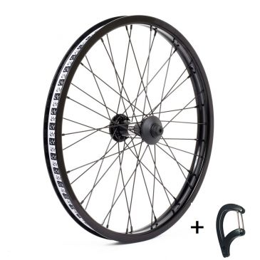 FRONT BMX WHEEL CULT CREW V2 BLACK
