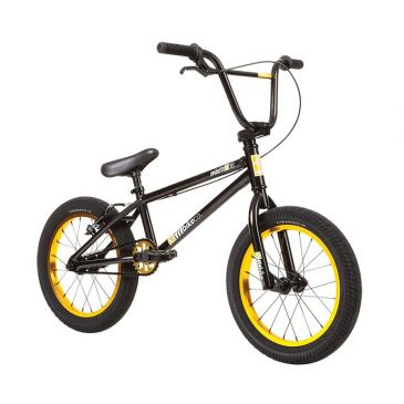 "BMX FIT BIKE CO MISFIT 16"" BLACK/GOLD 2020"