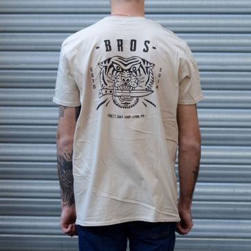 TSHIRT BROS BOXER HEATHER GREY