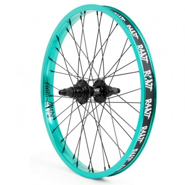 ROUE ARRIERE RANT PARTY ON V2 CASSETTE BLACK (RHD ou LHD)