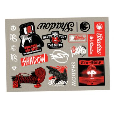 PACK STICKERS SHADOW CONSPIRACY 2020