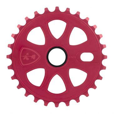 BMX SPROCKET SUBROSA PETAL MATTE RED