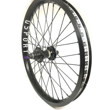 REAR BMX WHEEL CUSTOM ODYSSEY CLUTCH V2 X QUADRANT