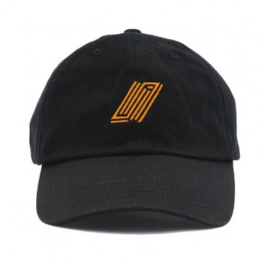 CASQUETTE UNITED DAD HAT BLACK / ORANGE