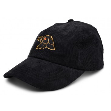 CASQUETTE SHADOW FINEST UNSTRUCTURED CORDUROY BLACK ( SP 2020 )