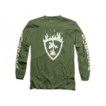 TSHIRT SUBROSA MANCHES LONGUES FUEGO GREEN (SP 2020)