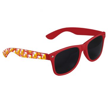 LUNETTE DE SOLEIL S&M SHIELD SHADES RED