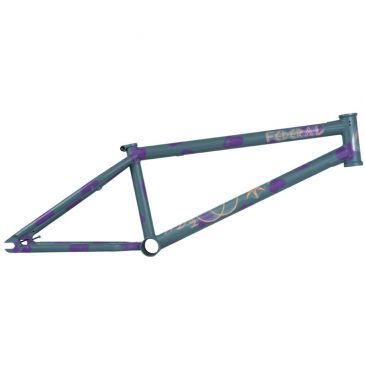 CADRE BMX FEDERAL PERRIN V2 ICS2 MATT GREY PURPLE