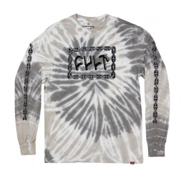 TEESHIRT BMX CULT FOREVER MANCHES LONGUES TIE DYE