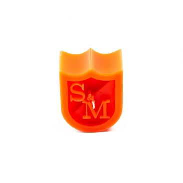 WAX S&M SHIELD CANDLE