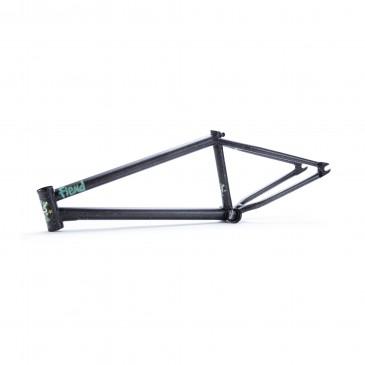 BMX FRAME FIEND REYNOLDS V2 BLACK/WHITE SPLATTER