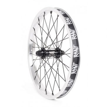 "FRONT BMX WHEEL 18"" RANT PARTY ON V2 SILVER"