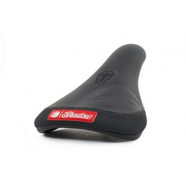 SELLE BMX PIVOTAL SHADOW CROW CUIR SLIM BLACK