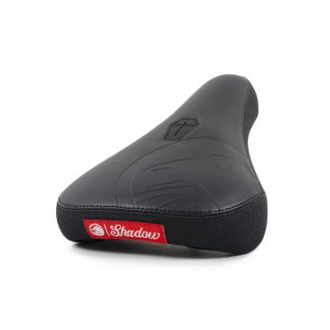 SELLE BMX PIVOTAL SHADOW CROW CUIR MID BLACK
