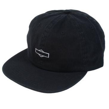 ODYSSEY HAT 6 PANELS SKEW UNSTRUCTURED BLACK